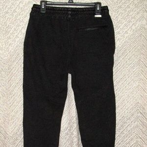 On The Byas Men's Sweatpants Size M Drop Fit Black